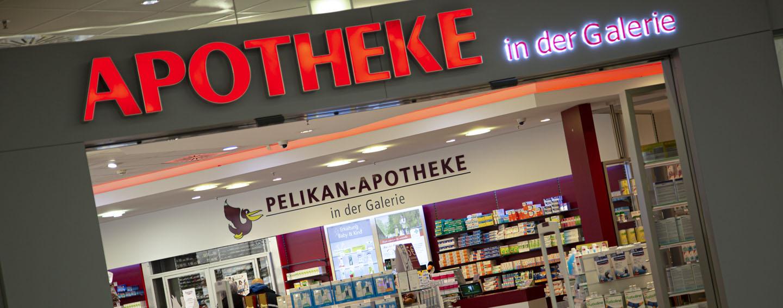 Die Pelikan-Apotheke in der Galerie
